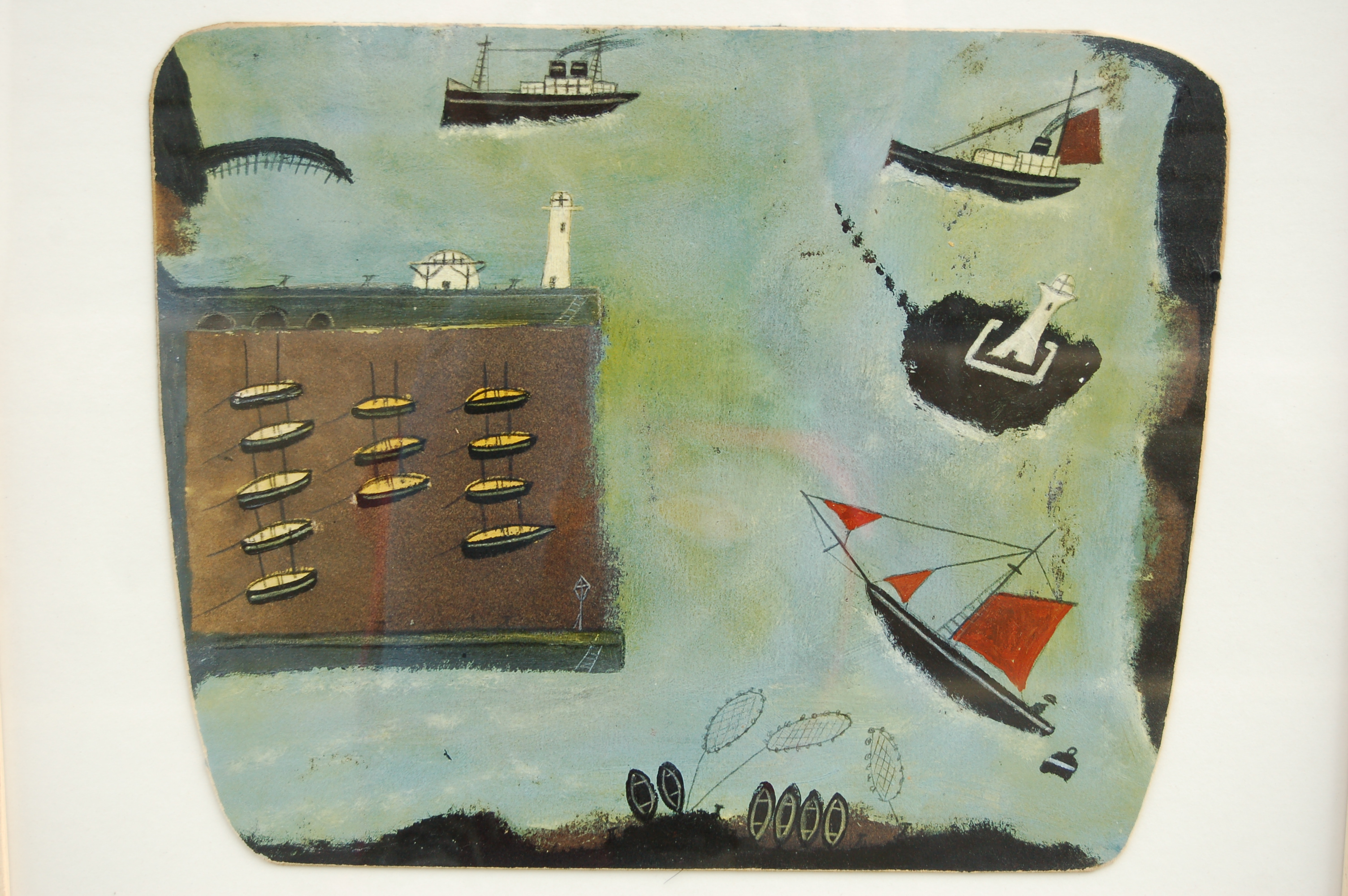 Recreating the art of Alfred Wallis