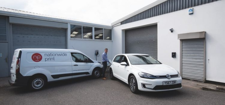 Going The Extra Mile: Print Firm Invests In Electric Transport