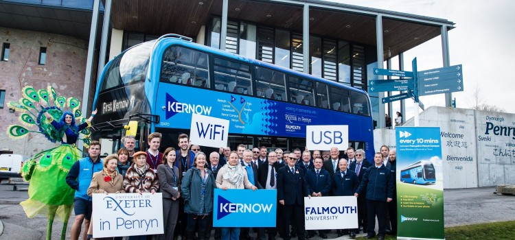 New Fleet Of High-Tech Buses For Falmouth