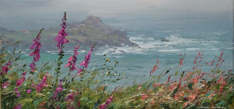 Plein Air Painter Returns To Cornish Views